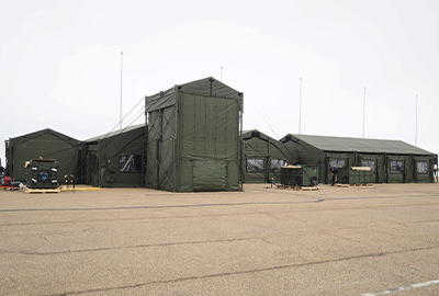 Awarded Canada's Headquarters Shelter System (HQSS)