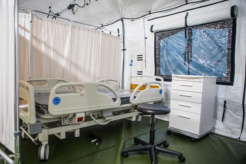 Weatherhaven Field Hospital Patient Room