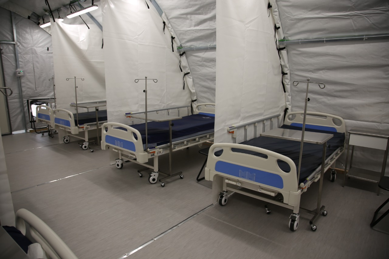 Weatherhaven Field Hospital bed